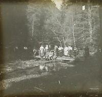 FRANCE Lutzelbourg Photo Stereo Plaque Verre 1922