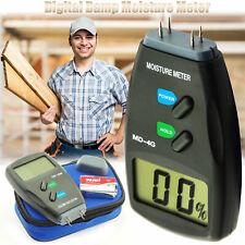 Mini 4 Pin 3In1 LCD Digital Moisture Meter Damp Detector Tester Caravan Camper