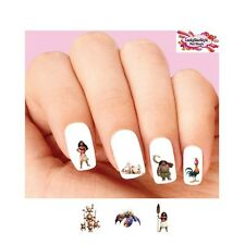 Waterslide Nail Decals Set of 20 - Moana, Maui, Hei Hei Assorted