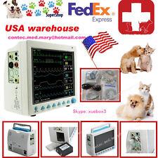 Fda Contec Cms8000 Vet Veterinary Patient Monitorecgnibpspo2resptemppr