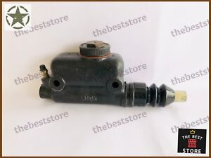 NEW MASTER BRAKE CYLINDER WITH PUSH ROD JEEP & WILLYS MORRIS MINORS(SEE DESCR)