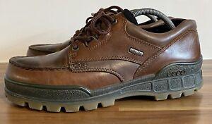 ECCO TRACK 25 GORE-TEX Men's Walking Shoes Waterproof Brown Leather UK 8 EU 42