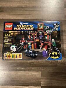 Lego Set 6857 The Dynamic Duo Funhouse Escape BATMAN JOKER New DC Super Heroes