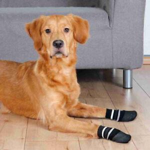 De-Luxe DOG SOCKS Anti Slip Rubber Coating All Sizes Injured Paws Elderly Dogs