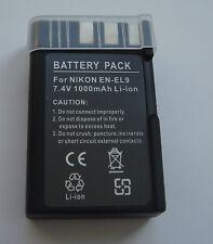 Batterie EN-EL9 EN-EL9a EN-EL9e ENEL9 pour Nikon D3000 D5000 D60 D40 D40x NEUVE