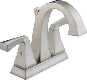 Delta Faucet 2551-SSMPU-DST Dryden Two Handle Centerset Lavatory Faucet,  C1