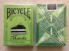Bicycle Matcha Playing Cards by Bocopo and printed by USPCC *RARE* China Release