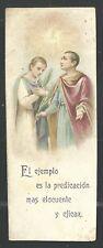 Holy card antique de San Cosme y Damian estampa santino image pieuse