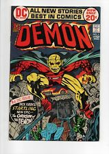 The Demon #1 Dc comic book from 1972 in Vf/Nm 9.0.Jack Kirby.50% Off Guide!