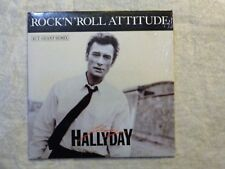 "CD VINYL REPLICA JOHNNY HALLYDAY ""ROCK'N'ROLL ATTITUDE"""