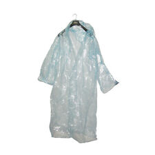 Men Women Boy Girl Rain Wear PVC Raincoat Fishing Travel Camping Festival Jacket