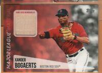 2019 Topps Baseball - Major League Materials - G/U Bat Relic - Xander Bogaerts