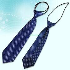 Blue Dot School Boy Girl Kids Child Wedding Party Elastic Tie Necktie 4399383