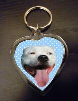 Keyring Staffordshire Bull Terrier Gift Staffie Birthday Gift Stocking Filler