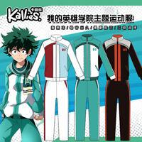 Anime Boku no Hero Academia Unise Coat+Trousers 2 Pcs Sets Cosplay Coat#9-534
