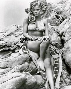 1969 SEXY BIKINI SWIMSUIT BEAUTY PLAYBOY ACTRESS SUSANNE BENTON 8X10 PHOTO PINUP