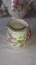 Vintage Old Foley James Kent Harmony Rose Sugar Bowl
