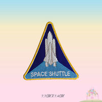 NASA Space Shuttle USA Logo Special Embroidered Iron On Patch Sew On Badge