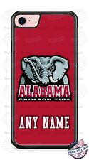 Customized Alabama Crimson Tide Elephant Phone Case with name for iPhone LG etc