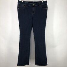 Lane Bryant Womens 20 Tall Jeans Straight Fit Slim Boot Genius Fit 39 x 34 *Flaw