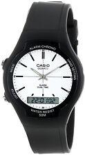 Casio AW-90H-7EV White Analog Digital Watch 50m Water Resistant Resin New