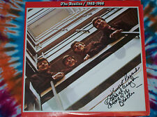 THE BEATLES 1962-1966 2lps CAPITOL RECORDS 1973 NEAR MINT Roger W. Morgan SIGNED