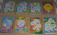 Japanese Pokemon Bandai 1999 Sticker Card Orange Island Complete Set (12 cards)