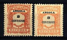 ANGOLA - 1921 - Segnatasse