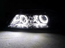 07-08 ACURA TL WHITE LED x4 ANGEL EYE HALO RING OEM HEADLIGHT TYPE-S