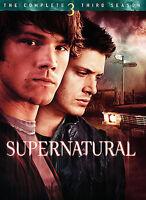 Supernatural: The Complete Third Season (DVD, 2008, 5-Disc Set)
