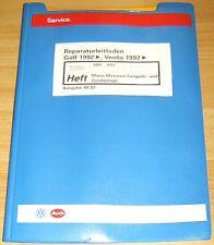 Reparaturleitfaden VW Golf 3 Mono Motronic Einspritz Zündanlage 1,4 1,6l 44/55KW