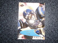 Rare Junior Seau Edge Odyssey First Quarter Card #127 1999 yr