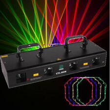 RGYP 4 Lens 460mW DMX DJ Laser Stage Light Club Party Lighting projector Show