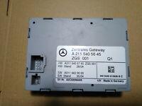 A2115405645 MERCEDES CENTRAL GATEWAY CONTROL MODULE W219 CLS550 W211 E500 E550