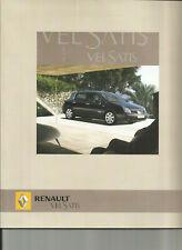 RENAULT VEL SATIS - 2005 / catalogue brochure prospekt katalog