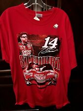 Chase Men's T-Shirt - Tony Stewart #14 - Old Spice Impala SS - Red - Size XLarge