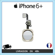 NAPPE FLEX MODULE BOUTON HOME ACCUEIL TOUCH ID CHAMPAGNE OR IPHONE 6 PLUS +