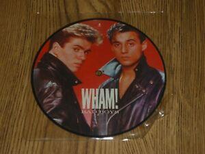 "WHAM! - Bad Boys - UK 7"" PICTURE DISC - WA 3143"