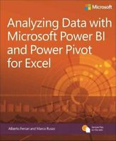 Analyzing Data with Power BI and Power Pivot for Excel 9781509302765 | Brand New
