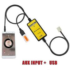 Car CD USB/SD Aux-in Adapter MP3 Player Radio Interface for Toyota Camry Corolla