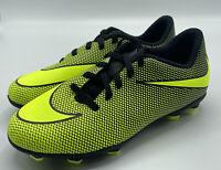 Nike Kids JR Bravata II FG (844442 070) Black/Volt Soccer Cleats Youth Size 4.5Y