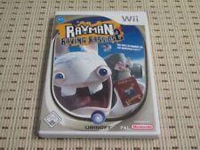 Rayman Raving Rabbids 2 para Nintendo Wii y Wii U * embalaje original *