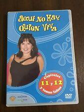AQUI NO HAY QUIEN VIVA CAPS 11 & 12 + TOMAS FALSAS DVD 6- 120MIN - DESCATALOGADO