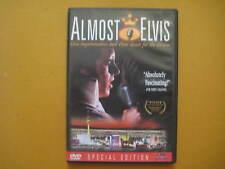 ALMOST ELVIS Elvis Impersonators And Their Quest For Fame USA DVD  ELVIS PRESLEY