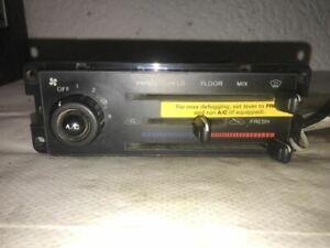 Temperature Control With AC Dealer Installed Fits 91-94 ESCORT 4385