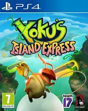 Yoku's Island Express Sony PlayStation Ps4 Game 7 Years