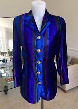 GIANNI VERSACE COUTURE striped velvet blazer size Italian 38 from fw 1993/94