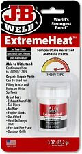 J B Weld 37901 Extremeheat High Temperature Resistant Metallic Paste 3oz