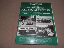 Racing David Brown Aston Martins vol 2 Chris Nixon 1st ed 1980 Hardback