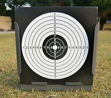 Airgun Target & Square Pellet Trap W. 20 Pcs Target Papers